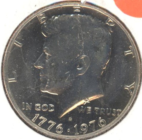 1976-D Kennedy Half Dollar - Uncirculated