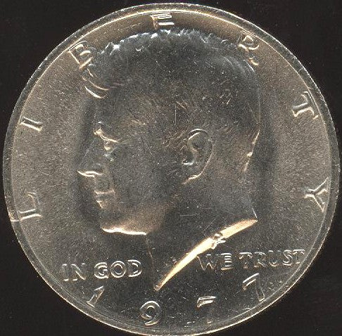 1977 Kennedy Half Dollar - Uncirculated