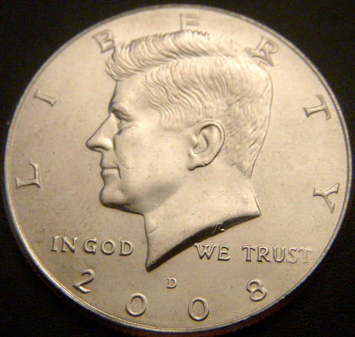 2008-D Kennedy Half Dollar - Uncirculated