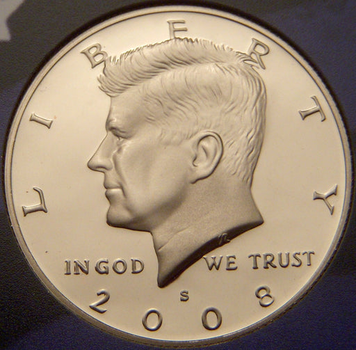 2008-S Kennedy Half Dollar - Clad Proof