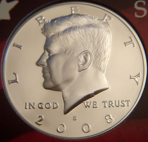 2008-S Kennedy Half Dollar - Silver Proof