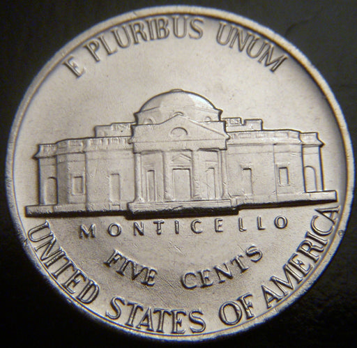 1986-P Jefferson Nickel - VF to AU