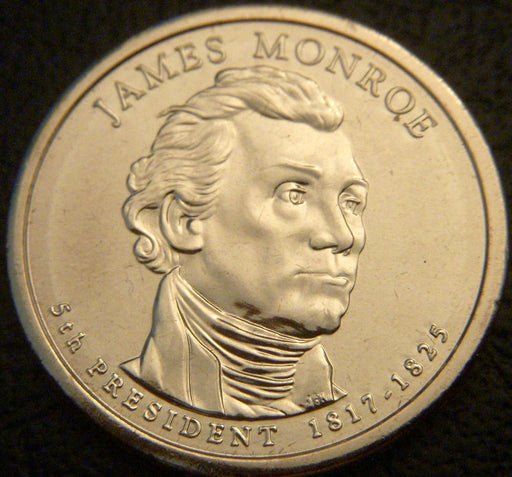 2008-D J. Monroe Dollar - Uncirculated