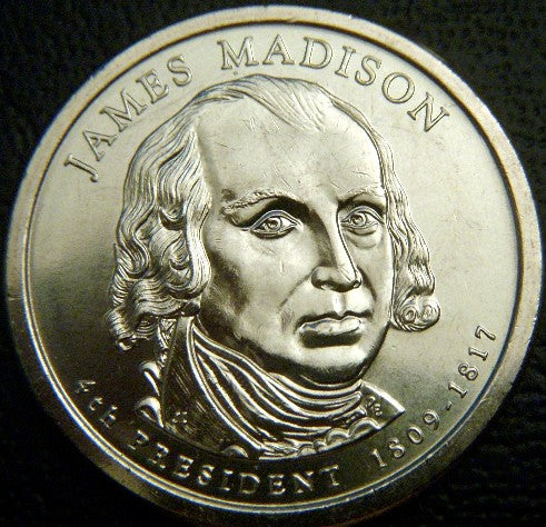 2007-P J. Madison Dollar - Uncirculated
