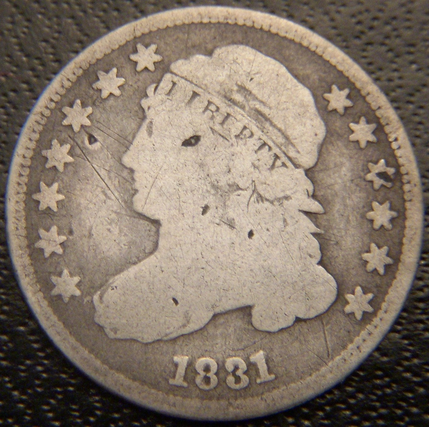 1831 Bust Dime - Very Good