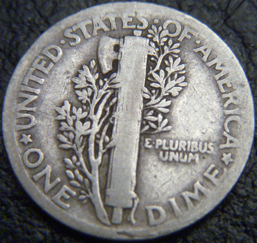1918 Mercury Dime - Good/VG