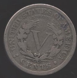 1912-D Liberty Nickel - Good