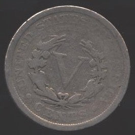 1899 Liberty Nickel - Good