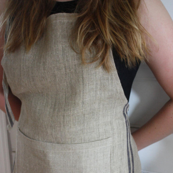 Apron - Natural & Grey