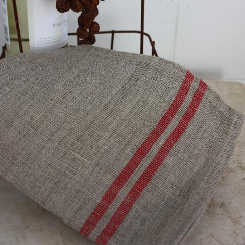 Rustic Towel - Red