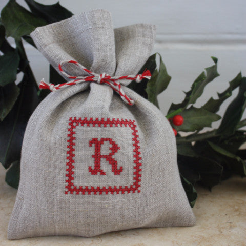 Red Framed Monogramme Bags