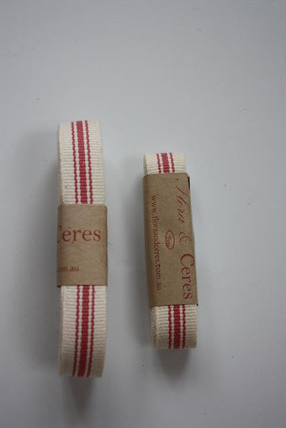Guava Ticking Ribbon