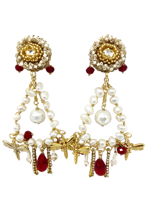 AGxA Pearl Obsession Earrings