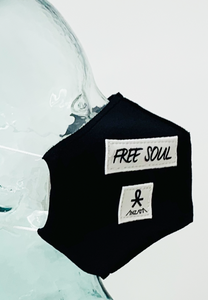 AFM Free Soul Black Face Mask