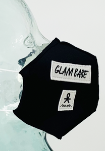 AFM Glam Babe Black Face Mask