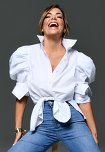 Load image into Gallery viewer, AxMJB - Blouse White