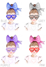 Load image into Gallery viewer, AFM Girls Bow Dolls Face Mask