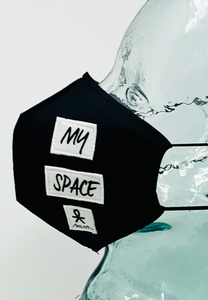 AFM Dont Invade My Space Black Unisex Face Mask