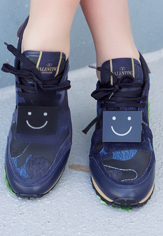 M'Sorry Happy Face Sneaker Plaque
