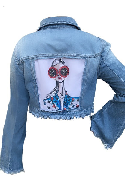 Customized Bell Sleeve Dolls Jacket