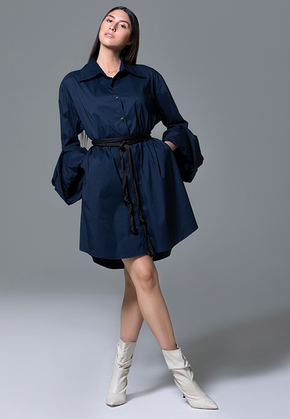 AxMJB - Navy Blue Dress