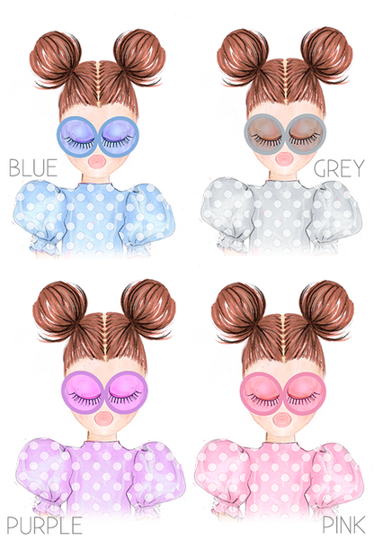 AFM Girls Polka Dot Dolls Face Mask