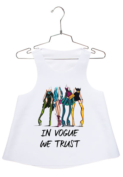 Trust in Vogue Racerback