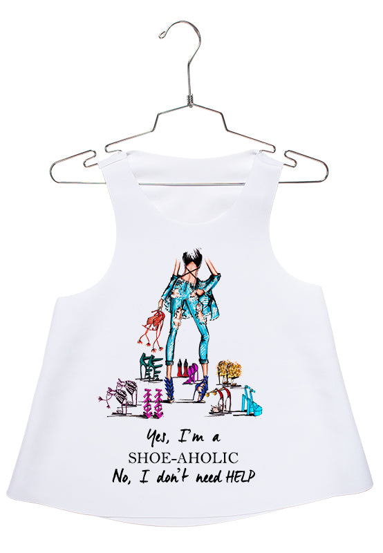 Be a Shoe-Aholic Racerback