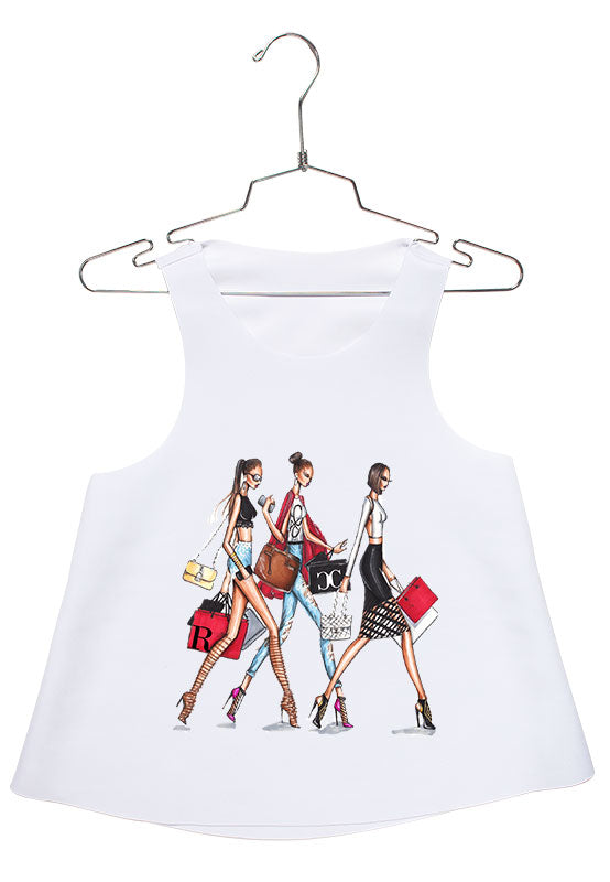 CZ Shopping Dolls Racerback