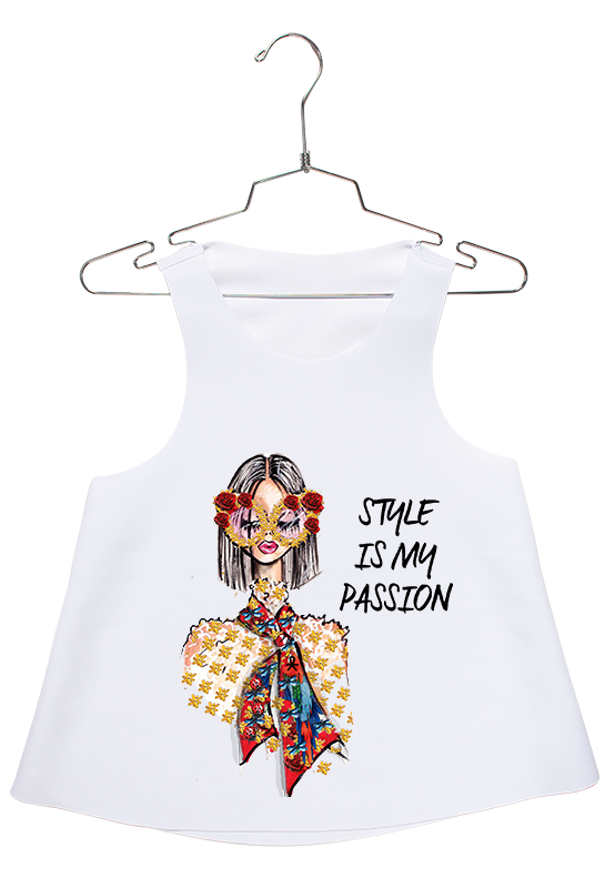 Style is my Passion Racerback