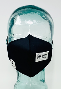 AFM The Boss Black Unisex Face Mask