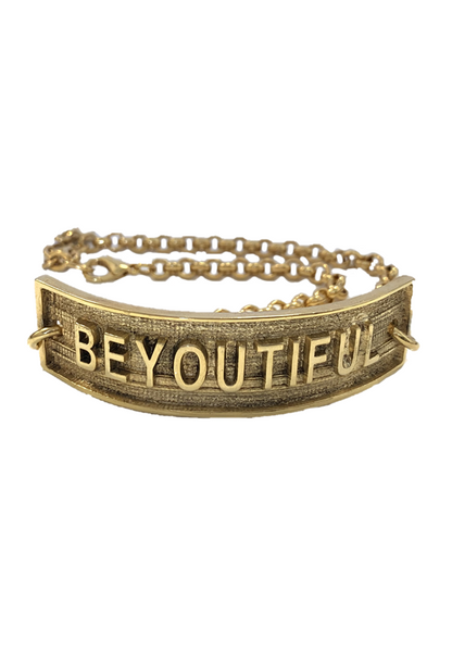 VGxA - BEYOUTIFUL Gold Choker