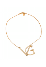 Load image into Gallery viewer, VGxA - CUSTOM INITIALS NECKLACE