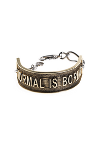 VGxA - Normal is Boring Bracelet