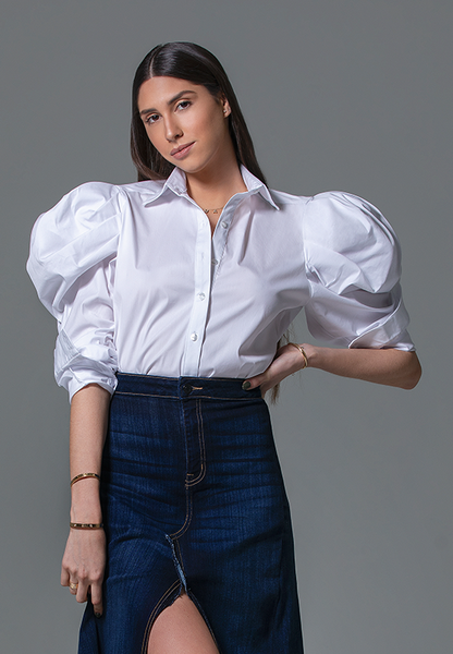 PRE-ORDER - AxMJB - White Blouse Relauched
