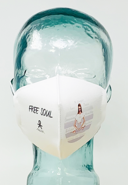 AFM Yoga in Grey Face Mask