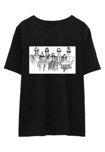 SQUAD Black T-Shirt