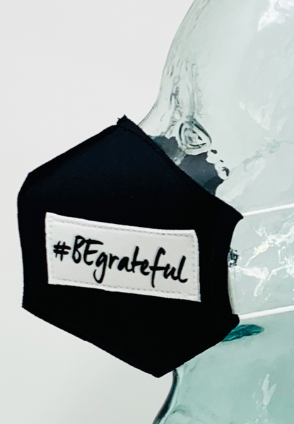 AFM #BeGrateful Black Face Mask