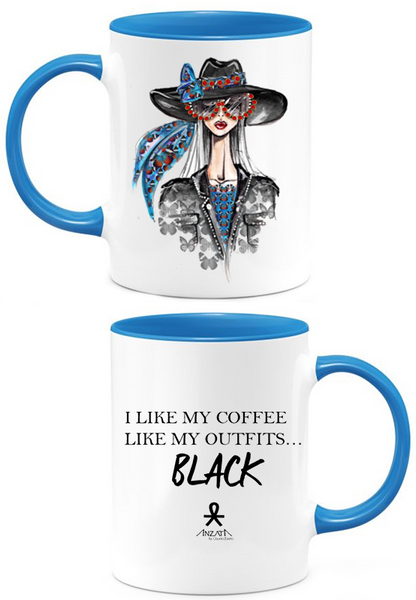 Love Black Coffee Mug