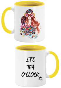 'Tea O'Clock Coffee Mug