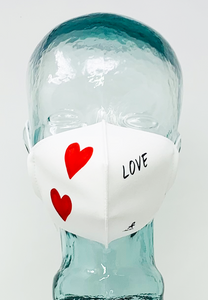 AFM LOVE 2HS Face Mask - Valentines Day Special Edition