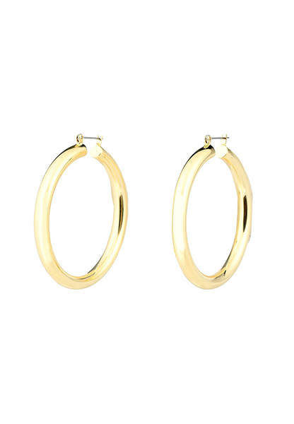ACJ Medium Golden Hoops
