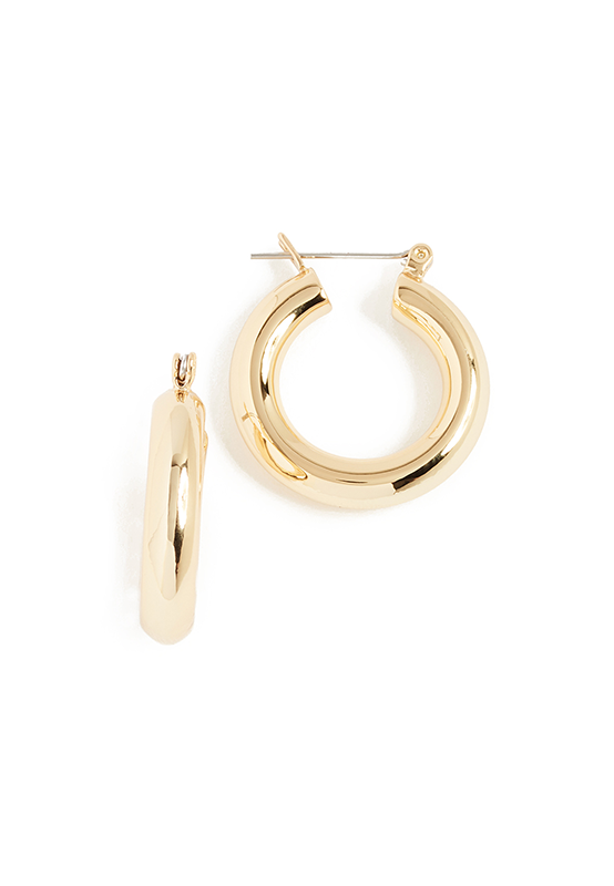 ACJ Small Golden Hoops