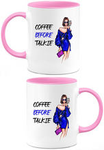 Load image into Gallery viewer, Coffee Before Talkie Coffee Mug