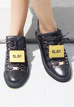Load image into Gallery viewer, M' Sorry SLAY Sneaker Plaque