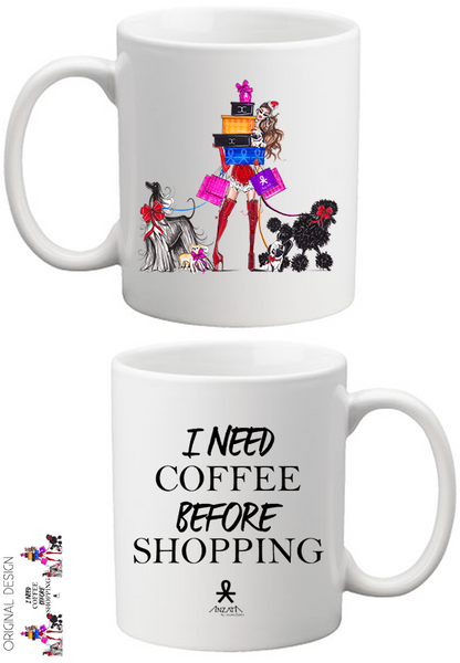 A Coffee for Shopping Holiday Coffee Mug