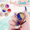Dual-Color Chromatic Mirror Nail Powder
