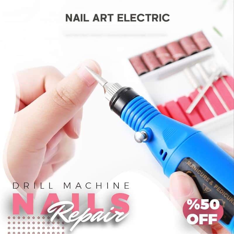 🎅Christmas limited time offer🎄Easy to use Electric Nail Care Kit