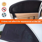 Car Curtain Car Window Sunshade(2 Pack)