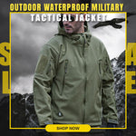 ✨Men's Outdoor Waterproof Military Tactical Jacket✨
